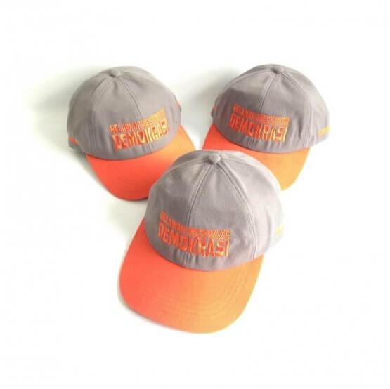 topi baseball bordir satuan murah