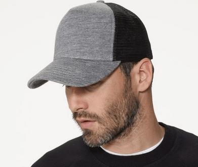 topi trucker gaul rambut tebal